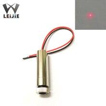 Adjustable Focusable 650nm 250mW High Power 12*45mm 3V-4.5V Red DOT Laser Module Industrial 12mm LED LD Module