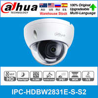 Dahua Originale IPC-HDBW2831E-S-S2 8MP 4K Poe Slot per Schede Sd H.265 + 30M Ir Ivs Onvif IP67 Starlight Mini dome di Rete Ip Camera