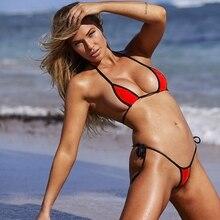 Hot sexy three-point bikini ladies swimwear 12 color Brazilian thong swimsuit BIKINI fashion trend