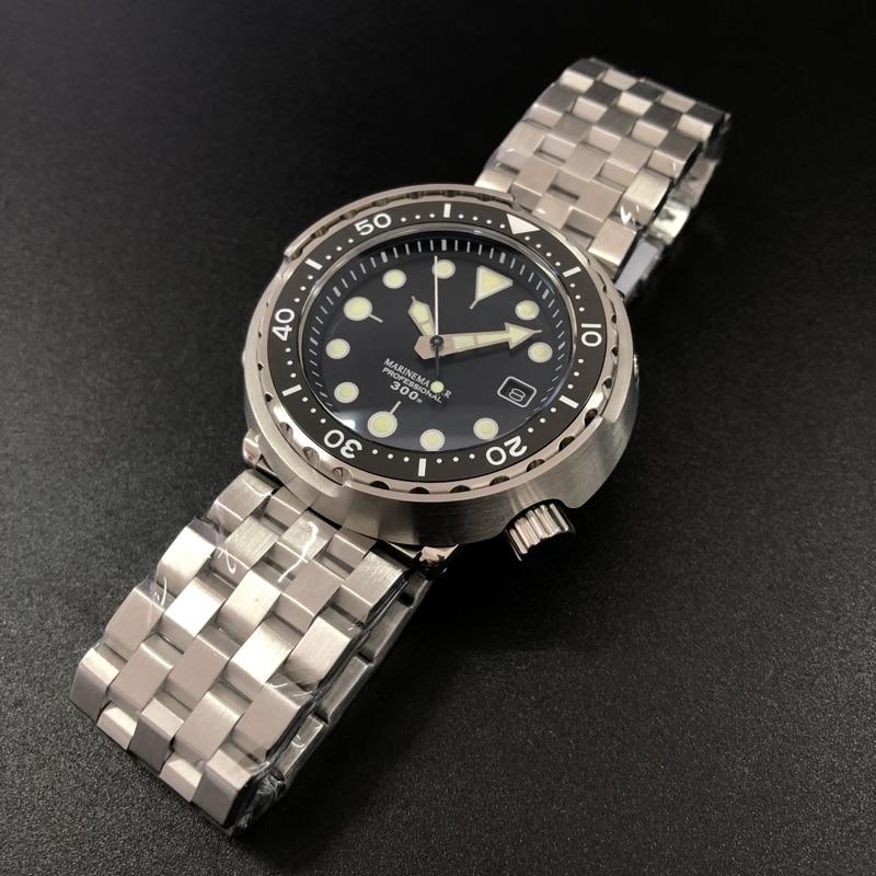 Tuna Dive Watch Automatic Watch Men 300 Water Resistant Ceramics bezel Sapphire glass Stainless steel watch men Mechanical watch