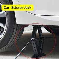 Car Foldable Handle Jack Folding Handle Scissor Jack Rocker General Tools For Auto Car Truck Jack Auto Lifting Repair Tyre Tool