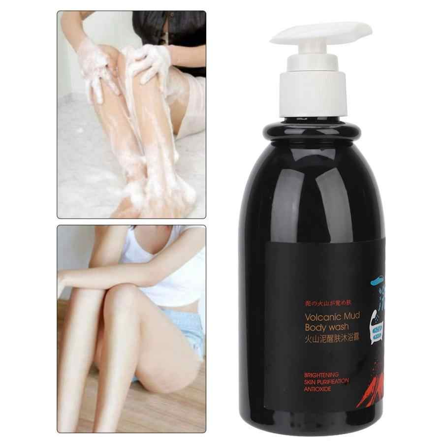 Whitening body shower gel Volcanic Mud Shower Gels Whole Body Fast Whitening Body wash Remove gel Whitening cleaning gel 250ml