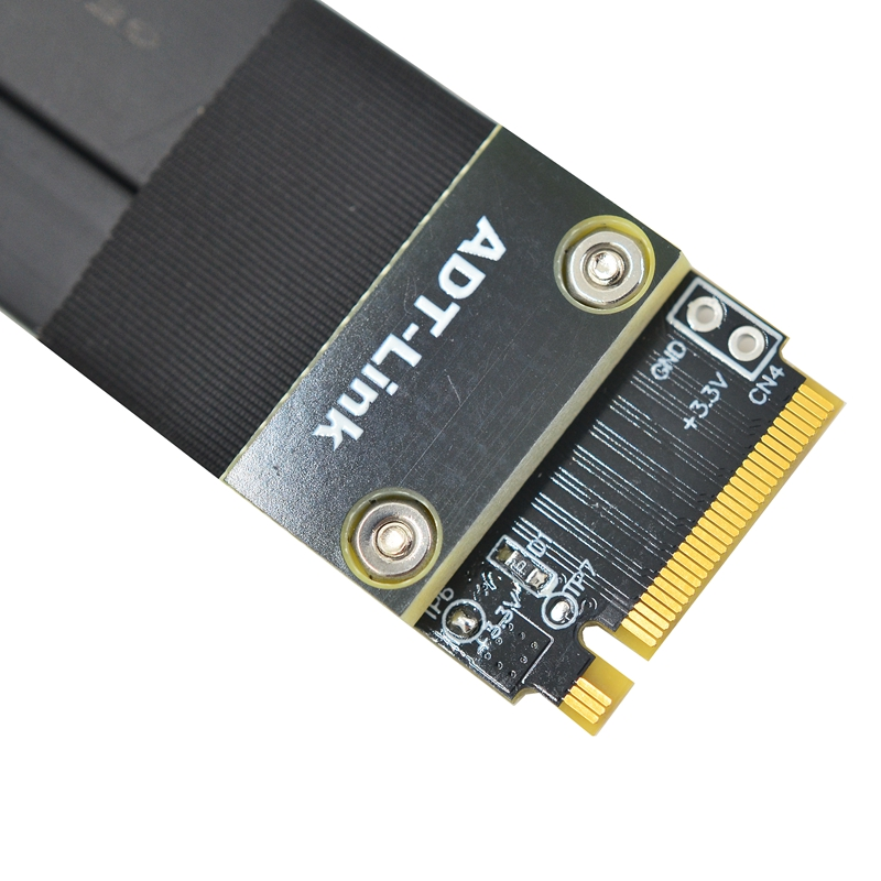 Image 2 - R42SF/R42SL/R42SR PCIe x4 3.0 Extension Cable PCI Express 4x To M.2 NVMe M Key 2280 Riser Card Gen3.0 Extender Line 32G/bpsComputer Cables & Connectors   -