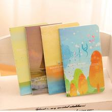 Ocean Series 80K Stitching Cartoon / Portable Small Book Creative Gift Suitable For Travel Diary And Note(China)