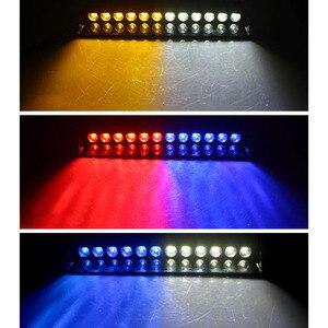 Image 5 - 1 セット 12 led 高輝度車両緊急ハザード警告ダッシュデッキグリルフロントガラス led 車ライト