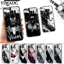 Marvel Venom Villain Glass Case for Samsung S7 Edge S8 S9 S10 Plus S10E Note 8 9 10 A10 A30 A40 A50 A60 A70