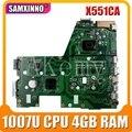 X551CA материнская плата 1007u CPU 4 Гб REV 2 2 для ASUS X551CAP X551CA X551C материнская плата для ноутбука X551CA материнская плата X551CA материнская плата