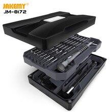 JAKEMY destornillador multifunción de JM 8172 Original, conjunto de herramientas de reparación, brocas de controlador magnético S2 para reparación de electrónica de mejora DIY