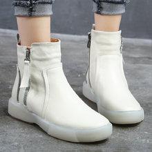 Женские бархатные короткие сапоги laasimi женская обувь на платформе