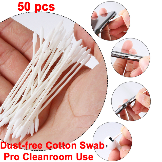 Cotton Disposable Stick Cleaning Tool