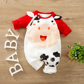 New Born Baby Boy Clothes Clothing Newborn Romper Jumpsuits Infant Babygrow Toddler Fall Baby Girl Onesie 0 3 6 9 12 18 24 Month image