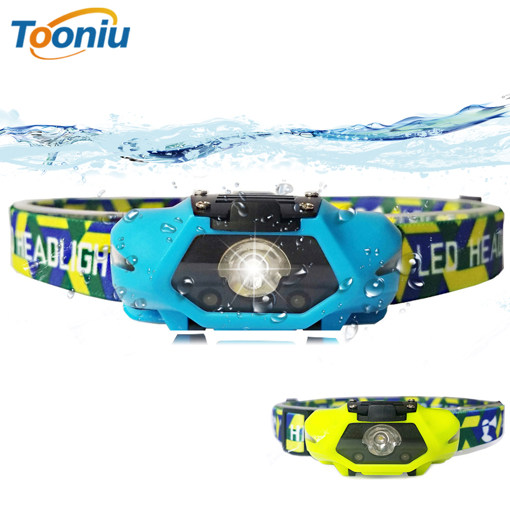 Powerful LED Headlamp LED Running Headlight Use AA Battery Perfect For Fishing Walking Camping Reading Hiking 4 Lighting Modes