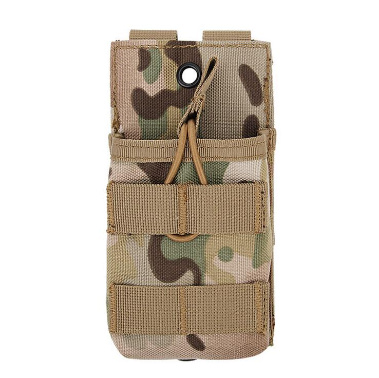 Camouflage Tactical Magazine Pouch Military Army MOLLE Vest Belt Hunting Utility Flashlight Bags Storage Bags For 7.62 & WST