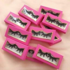 10pairs 25mm Mink Eyelashes Wh