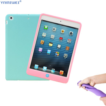 Silicone Case for ipad mini 1 2 3 Full Body Protect Skin Soft Cover 5 case Back iPad Mini 4