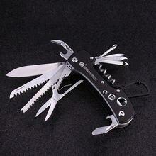 Походный нож многофункциональный складной для кемпинга инструмент