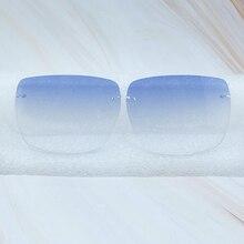 Color lenses, Square lenses for Carter 012 Wood Buffalo Horn Glasses, Lens Only  Sunglasses Lens