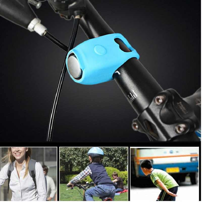 PVC Waterproof Bike Horn Bells Energy Saving Electric Bike Bell Horn Handlebar