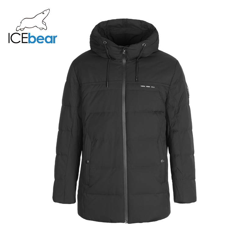 ICEbear 2019 New Winter Men's Down Jacket Plus Size Winter Jackets Fashion Male Outerwear Brand Clothing YT8117080
