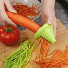 Овощной фруктовый слайсер из нержавеющей стали для резки картофеля спиральный слайсер морковь Shred устройство для приготовления салата резак для редиски кухонные инструменты
