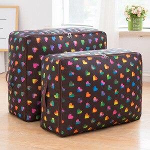Image 1 - Oxford Cloth Quilt Storage Bag Luggage Storage Quilt Organizer Finishing Bag Travel Organizer Pouch