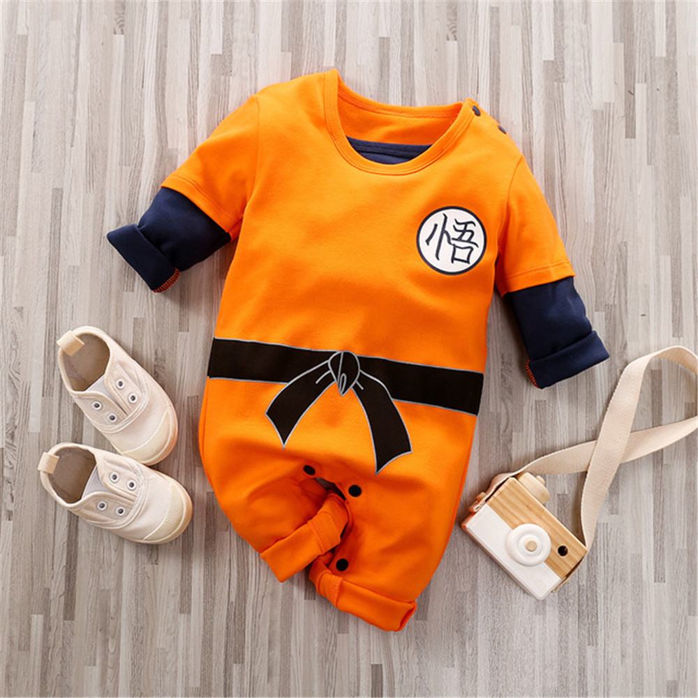 Prowow Anime Baby Romper Newborn Male Baby Clothes Cartoon Cosplay Costume For Baby Boy Jumpsuit Cotton Baby Overalls For Kids