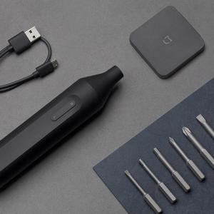Image 5 - Xiaomi Mijia חשמלי/ידני מברג 1500mah נטענת משולב מברג W/6 S2 בורג Bits חשמלי בורג נהג