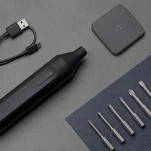 Image 5 - Xiaomi destornillador eléctrico/Manual Mijia, destornillador integrado recargable de 1500mah con brocas de tornillo S2, destornillador eléctrico