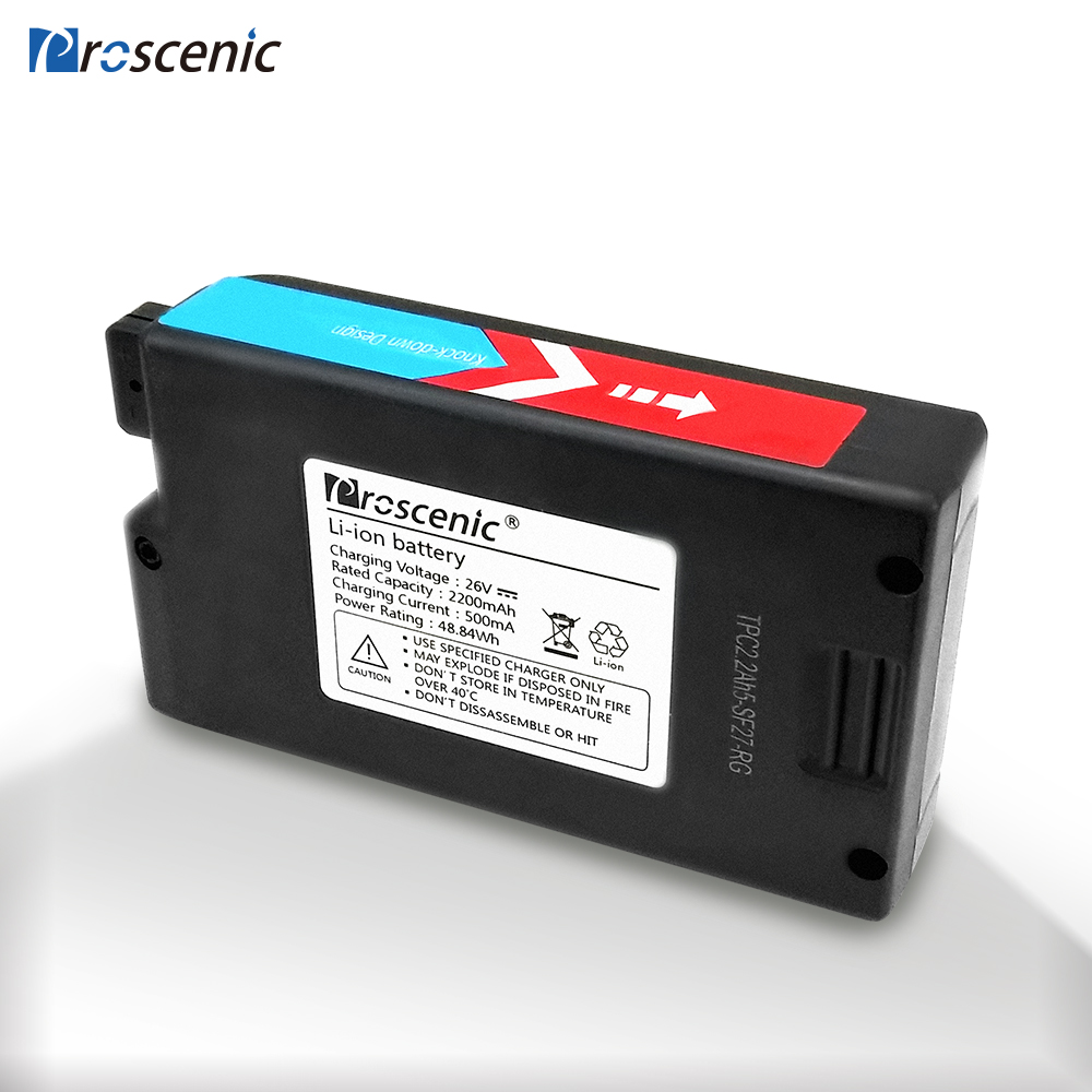 Image 2 - Proscenic P8/P8 Plus/P9 Battery 22.2V 2200MA Handheld Cordless Vacuum Cleaner Battery P8 Trojan-in Vacuum Cleaner Parts from Home Appliances