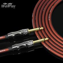Elektro gitar tel kablo bas piyano klavyesi davul gürültü azaltma kalkan ses oksijensiz bakır hattı ateş kablosu