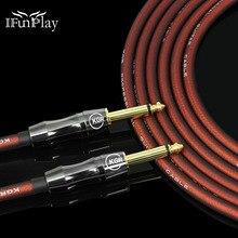 Gitara elektryczna drutu kabel bas klawiatura pianina bęben redukcji szumów tarcza Audio tlenu darmowa miedziana linia gorączka kabel