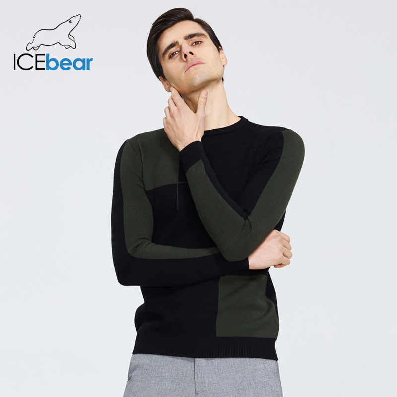 Icebear 2020 고품질 남성 스웨터 세련된 남성 풀오버 브랜드 남성 의류 1717