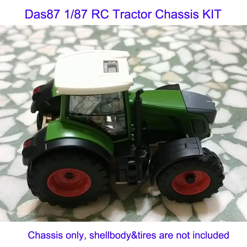 DasMikro Das87 DS87E08 HO Scale 1/87 Tractor Chassis KIT Bodyshell & Tires Not Included
