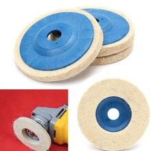 4 Inch Felt Wool Buffing Angle Grinder Wheel Felt Polishing Disc Pad Set Newest Polisher 100mm Wool Polishing for Marble & Metal