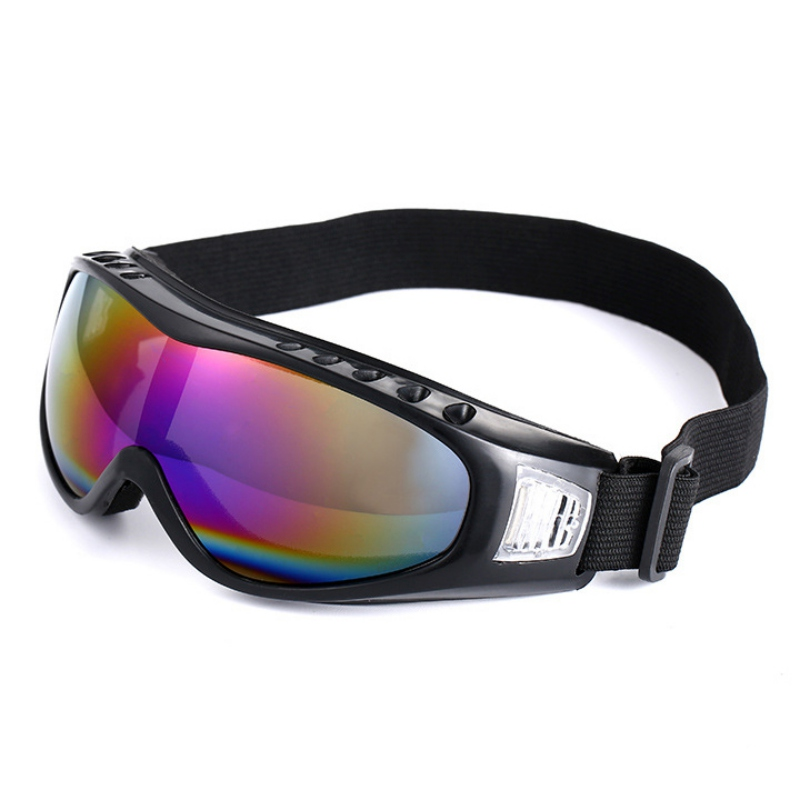 Practical Outdoor Riding Running Protective Glasses Multifunction Anti-Glare UV Protective Ski Snowboard Sports Safety Goggles