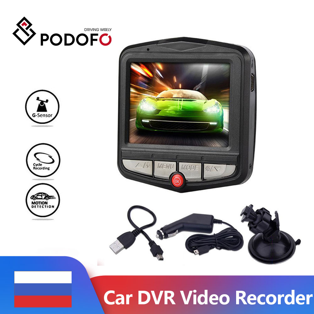 Podofo Driving Recorder Car DVR Dash Camera DVRs Cycle Recording Night Vision G sensor Wide Angle Dashcam Video Registrar DVR|DVR/Dash Camera| - AliExpress