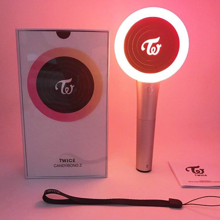 Bluetooth Twice Light Stick Version 2 Filles Candy Bong Flambeau Stick KPOP B/âton De Lumi/ère De Concert//Lumi/ère Acclamant