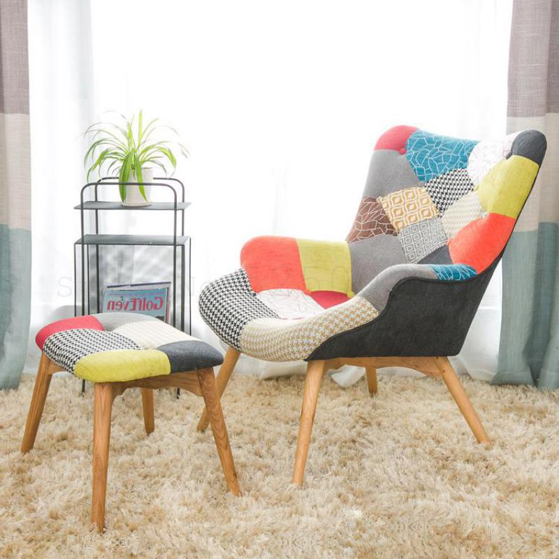 US $220.05 35% OFF Single Sofa Chair Modern Simple Small Huxing Leisure  Tiger Chair Bedroom Balcony Lazy Small Sofa Lifting Chair on AliExpress