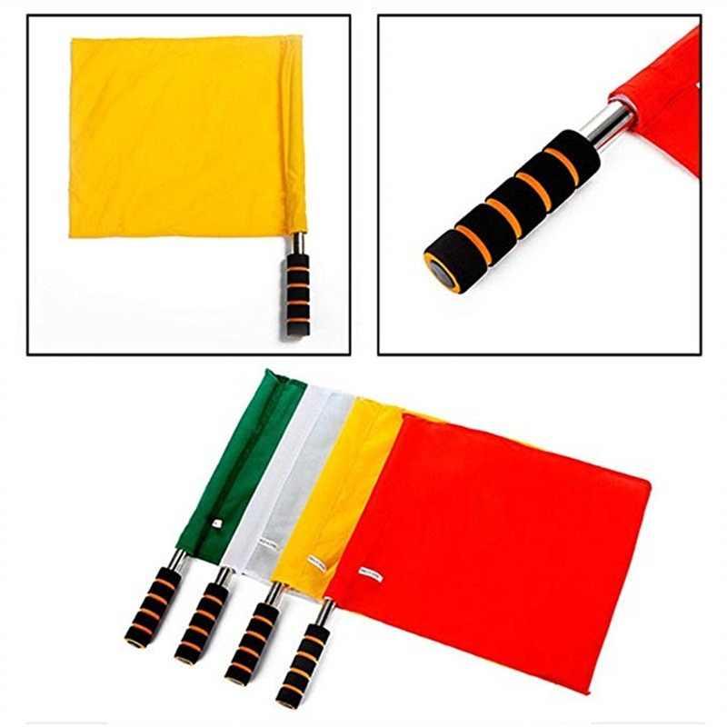 Konkurs lekkoatletyczny sędzia specjalny flaga dowodzenia polecenie ze stali nierdzewnej dla sędziego piłkarskiego