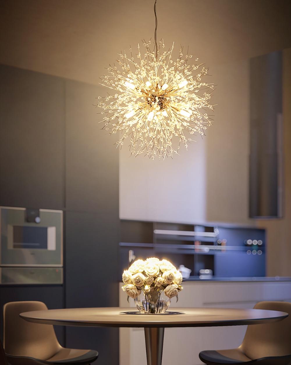 Dandelion Chandelier Lighting 8