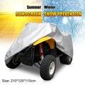 Чехол для квадрокоптера XL  большой чехол для квадроцикла 190T с защитой от УФ-лучей и дождя  водонепроницаемая теплозащитная газонокосилка дл...