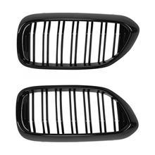 1 пара Автомобильная Передняя широкая почка решетка гриль блеск черный Замена подходит для G30 G38 51137390863 бампер решетка блеск черный