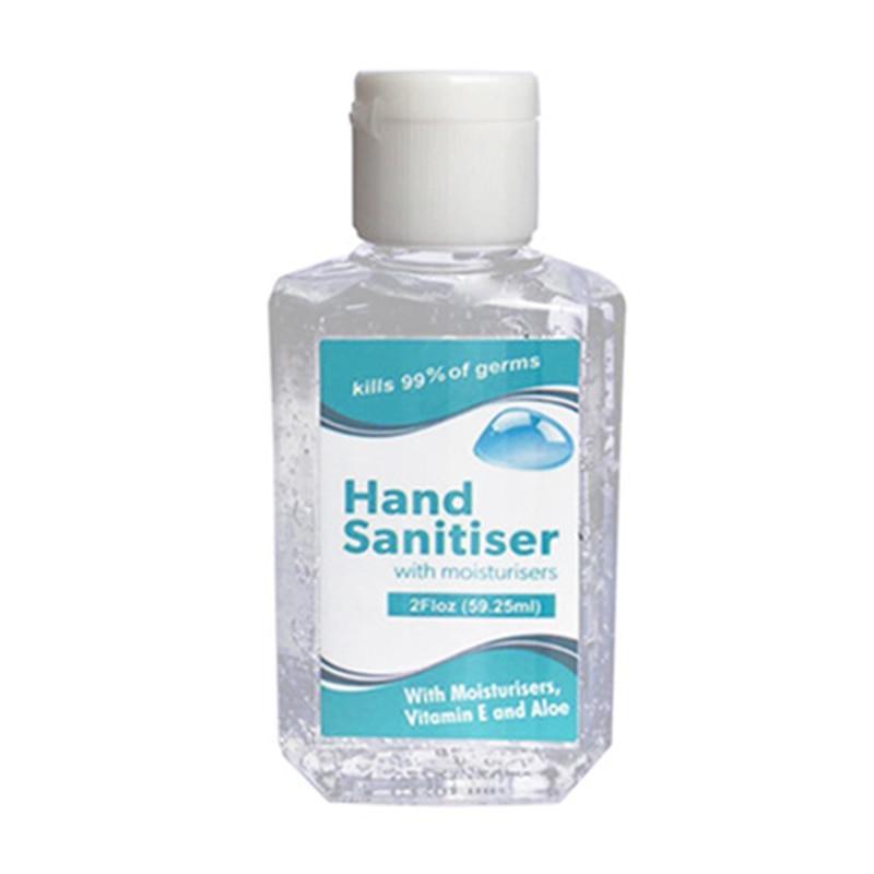 Recommend 59.25ml 75% Hand Sanitizer Moisturizing Fruit Flavor Not Clean Anhydrous Transparent Liquid