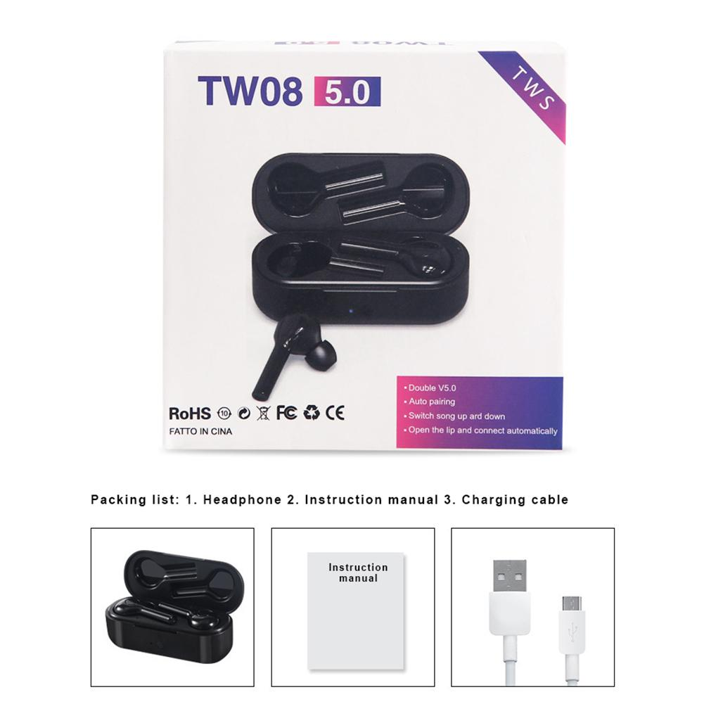 TWS Bluetooth Earphone with Stereo Noise Reduction  3