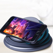 Portable smartphone wireless charger folding mobile phone holder LED ambient light table lamp toning lighting 10 W fast charging cheap feizhouying Plastic With LED Light Used With Phone Micro Usb Desktop Pad With Lamp