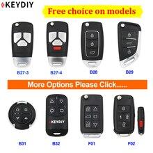 KEYDIY Remote KD Remote Control Car Key B27 3 B27 4 B28 B29 B31 B32 F01 F02 Garage Remote for KD900 URG200 KD900+ KD X2 Mini KD