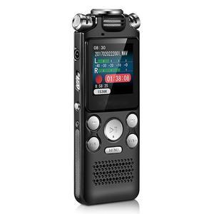 Pen Dictaphone Mp3-Player Recording Audio Activated-Sound Digital Noise-Reduction Mini