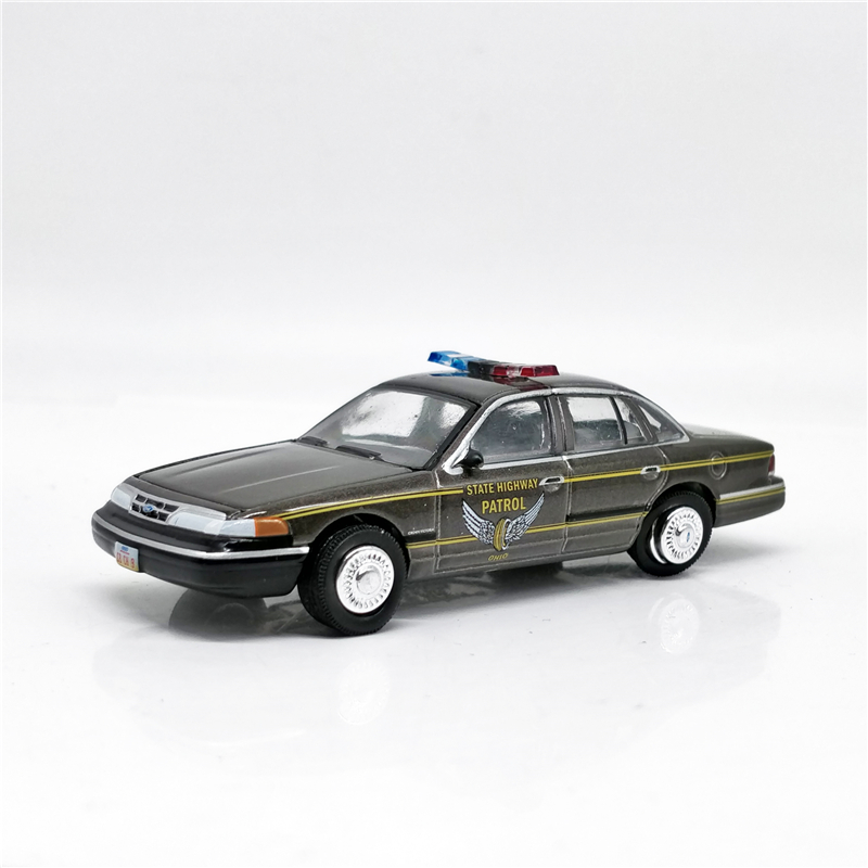 Greenlight 1:64 Hot Pursuit Highway Patrol 1995 Ford Crown Victoria Police Brown No Box