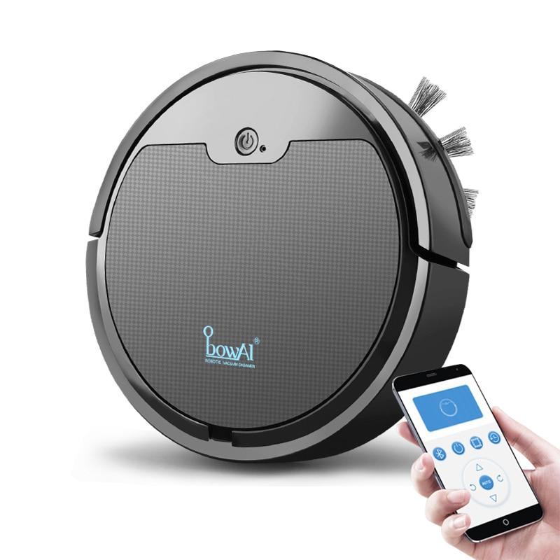 2020 mise à niveau Robot intelligent aspirateur 2000Pa App télécommande aspirateur maison multifonctionnel sans fil balayage Robot