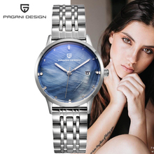 PAGANI design brand Womens Watches fashion stainless steel Quartz watch women waterproof Relogio Feminino Montre Femme